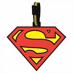 Etiqueta pmala vinil s superman dc vermelho amarelo 10 x 13