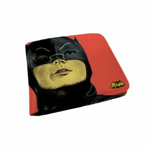 Carteira pu dco movie batman face fd rosa 9 x 12 cm