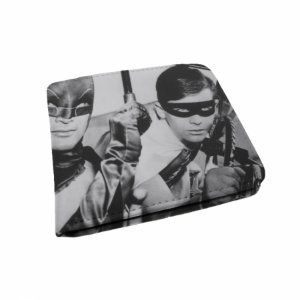 Carteira pu dco movie batman and robin pb 9 x 12 cm