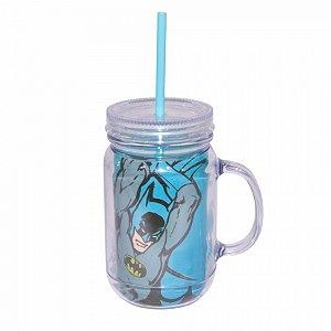 Copo jarra acrilico dco batman body colorido 13 x 10,5 x 24