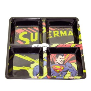 Petisqueira Melamine Dc Superman Com Raios