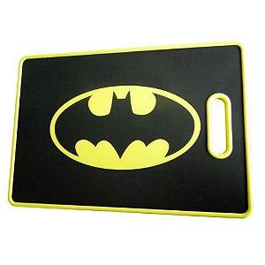 Tabua Corte Plastica Dco Logo Batman Amarelo e Preto