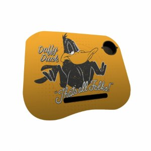 Porta laptop mdfplastico looney daffy duck thats all folks p