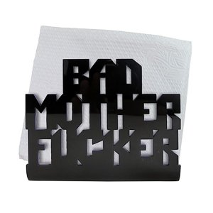 Porta Guardanapo Bad Mother Fu