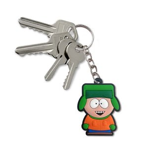 Chaveiro emborrachado cute South Park Kyle