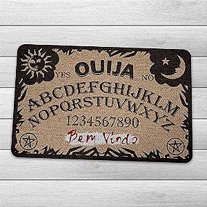 Capacho Ecológico Tabuleiro Ouija - Bem Vindo