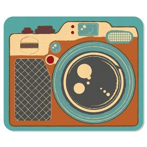 Mousepad Camera Retro