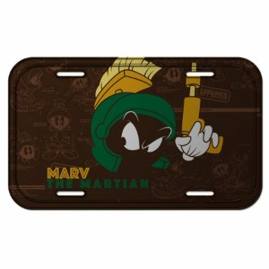 Placa parede looney marvin the martian