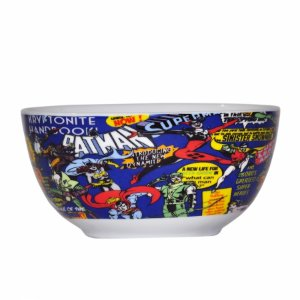 Set 2 pcs bowl dc comics super heroes