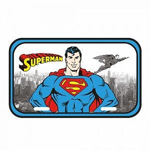 Placa parede dc superman detroit city