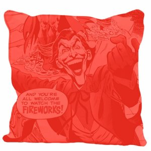 Capa almofada dco joker fireworks