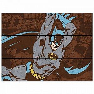 Placa dco batman attacking position