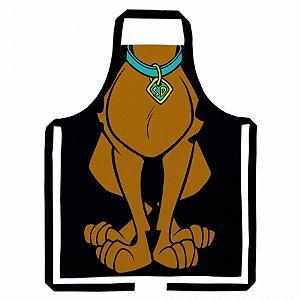 Avental algodao Scooby doo body preto