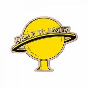 Placa Madeira DC Daily Planet 30x40