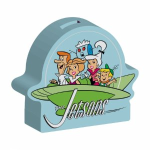 Cofre cerâmica The Jetsons Family Spaceship