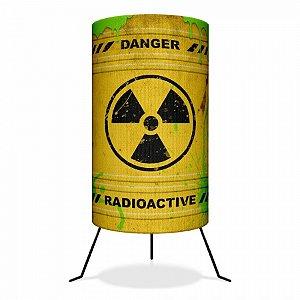 Luminária Barril Radioactive Radioativo