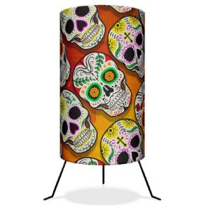 Luminária Skull Caveira Mexicana