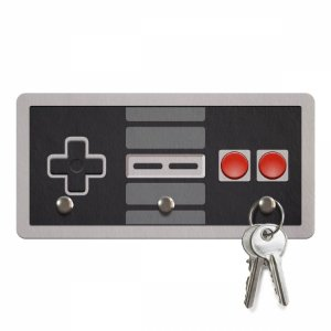 Porta Chaves Gamer Joystick 8-bits