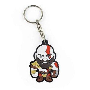 Chaveiro emborrachado Cute Kratos