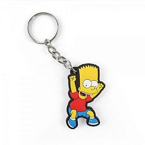 Chaveiro emborrachado Cute Bart