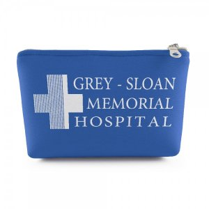 Necessaire Grey Sloan - Pequena 19x14