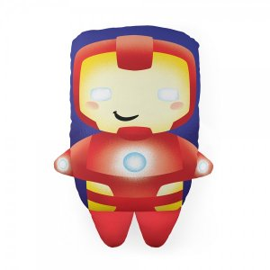 Almofada Formato Cute Iron Man