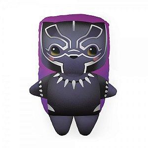 Almofada Formato Cute Pantera Negra