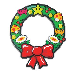 Guirlanda de Natal Pixel