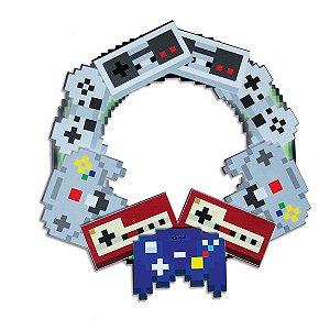 Guirlanda de Natal controles Pixel