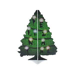 Árvore de Natal stranger lights