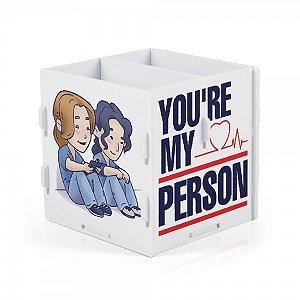 Porta Trecos You are my person