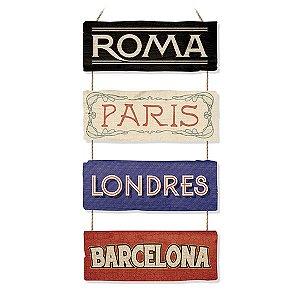 Placas MDF Cidades