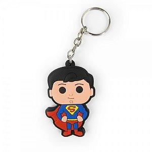Chaveiro emborrachado Superman