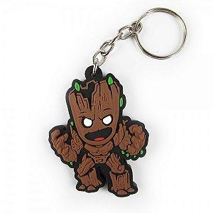 Chaveiro emborrachado Groot