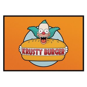 Jogo Americano Simpsons Krusty Burger