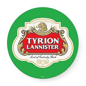 Bandeja giratória madeira Tyrion Lannister GOT