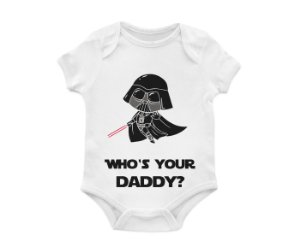 Body Bebê Daddy Darth