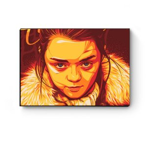 Quadro decorativo GOT Arya Stark