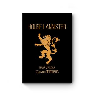 Quadro decorativo Game of Thrones Lannister