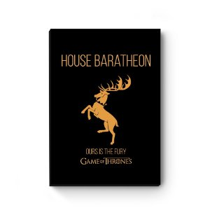 Quadro decorativo Game of Thrones Baratheon