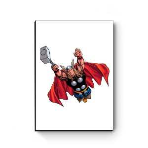 Quadro decorativo MDF Marvel Thor