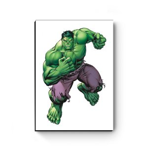 Quadro decorativo MDF Marvel Hulk