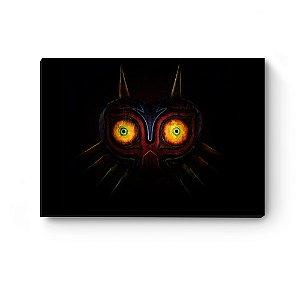 Quadro decorativo MDF Legend Of Zelda Mask