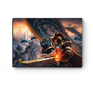 Quadro decorativo MDF World Of Warcraft Varian I