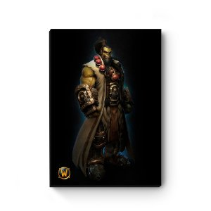 Quadro decorativo MDF World Of Warcraft Thrall III