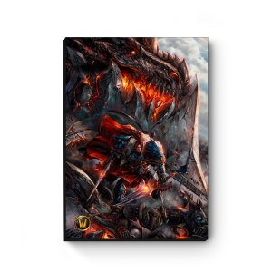 Quadro decorativo MDF World Of Warcraft Varian IV