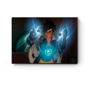 Quadro decorativo MDF Overwatch Tracer