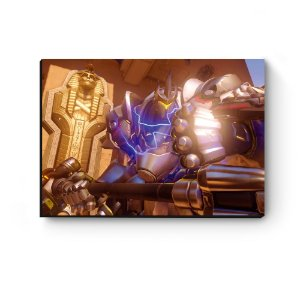 Quadro decorativo MDF Overwatch Reinhardt