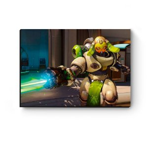 Quadro decorativo MDF Overwatch Orisa