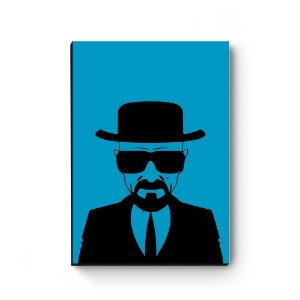 Quadro decorativo MDF Breaking Bad Azul